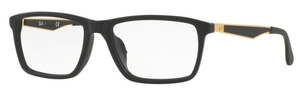 Ray Ban Glasses RX7056F Asian Fit Matte Black