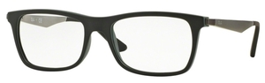 Ray Ban Glasses RX7062 Black Top On Green