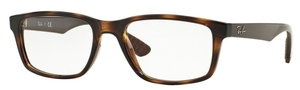Ray Ban Glasses RX7063 Shiny Havana