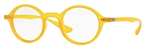 Ray Ban Glasses RX7069 Opal Matte Yellow