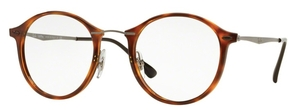 Ray Ban Glasses RX7073 Light Havana 02