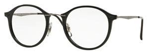 Ray Ban Glasses RX7073 Shiny Black