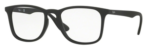 Ray Ban Glasses RX7074 Rubber Black