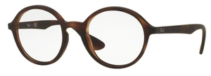 Ray Ban Glasses RX7075 Rubber Havana