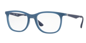 Ray Ban Glasses RX7078 Transparent Light Blue 8019