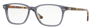 Ray Ban Glasses RX7119 Shiny Opal Grey