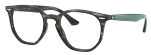 Ray Ban Glasses RX7151 Grey/Green Havana