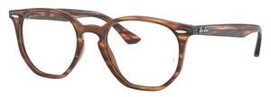 Ray Ban Glasses RX7151 Havana Red/Brown