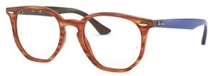 Ray Ban Glasses RX7151 Light Brown Havana