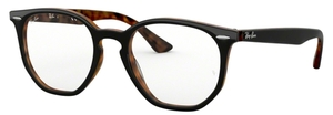 Ray Ban Glasses RX7151 Top Grey On  Havana