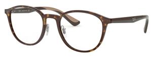 Ray Ban Glasses RX7156 Havana