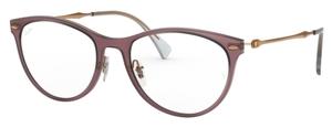 Ray Ban Glasses RX7160 Demi Gloss Burgundy