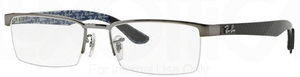 Ray Ban Glasses RX8412 Gunmetal 2502