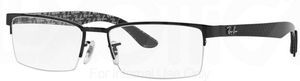 Ray Ban Glasses RX8412 Shiny Black 2509
