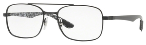 Ray Ban Glasses RX8417 Demigloss Black