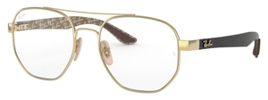 Ray Ban Glasses RX8418 Gold