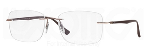Ray Ban Glasses RX8725 Brown