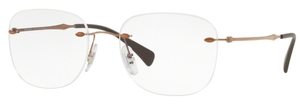 Ray Ban Glasses RX8748 Light Brown