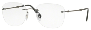 Ray Ban Glasses RX8748 Matte Dark Gunmetal