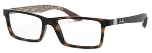 Ray Ban Glasses RX8901 Havana