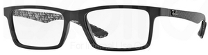 Ray Ban Glasses RX8901 Demi Gloss Black 5263