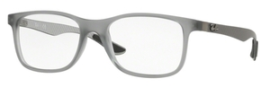 Ray Ban Glasses RX8903 Matte Transparent Grey