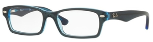 Ray Ban Junior RY1530 Top Blue on Blue Fluo