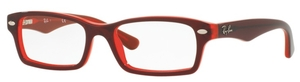 Ray Ban Junior RY1530 Top Red on Red Fluo
