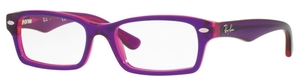 Ray Ban Junior RY1530 Top Violet on Fuscia Fluo