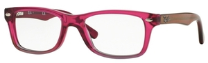 Ray Ban Junior RY1531 Fuscia Gradient Iridescent Grey
