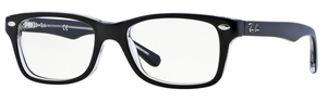 Ray Ban Junior RY1531 Top Black on Transparent