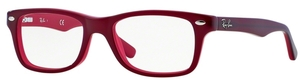 Ray Ban Junior RY1531 Top Red on Opalin Red