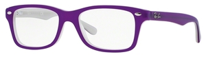 Ray Ban Junior RY1531 Top Violet on Opal Ice
