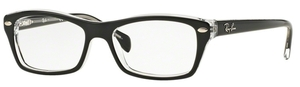 Ray Ban Junior RY1550 Top Black on Transparent