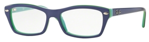 Ray Ban Junior RY1550 Top Violet on Green Azure