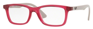 Ray Ban Glasses RY1562 Transparent Cherry