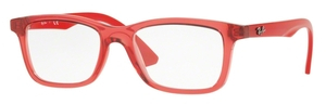 Ray Ban Glasses RY1562 Transparent Red