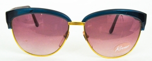 Revue Retro S125 Teal/Red/Gold with Brown Gradient Lenses