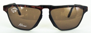 Revue Retro S7403 Tortoise/Matte Black with Brown Lenses