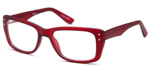 Capri Optics Senior Burgundy