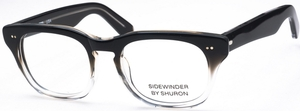 Shuron Sidewinder Black Fade with Gray Lenses