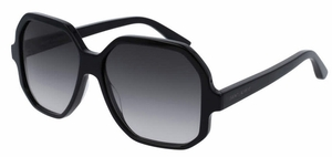 YSL Saint Laurent SL 132 Black with Grey Gradient Lenses