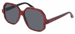 YSL Saint Laurent SL 132 Red with Grey Lenses