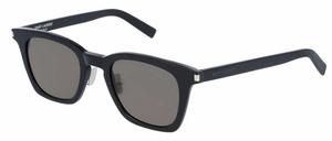 YSL Saint Laurent SL 138 Black with Smoke Grey Lenses
