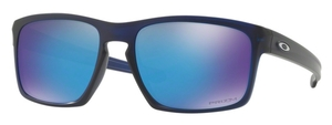 Oakley Sliver OO9262 45 Matte Translucent Blue / Prizm Sapphire