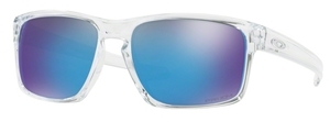 Oakley Sliver OO9262 47 Polished Clear with Prizm Sapphire Lenses