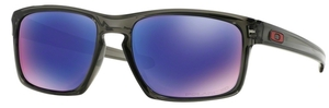 Oakley Sliver OO9262 Grey Smoke with Polarized +Violet Iridium Lenses