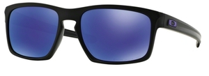 Oakley Sliver OO9262 10 Matte Black with Polarized Violet Iridium Lenses