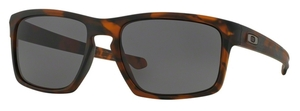 Oakley Sliver OO9262 03 Matte Brown Tortoise with Warm Grey Lenses
