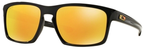 Oakley Sliver OO9262 27 Polished Black VR/46 with Fire Iridium Lenses